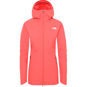 The North Face Hikesteller Parka Shell Jacke Damen cayenne red